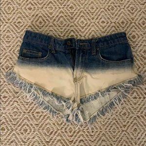 LF carmar denim shorts